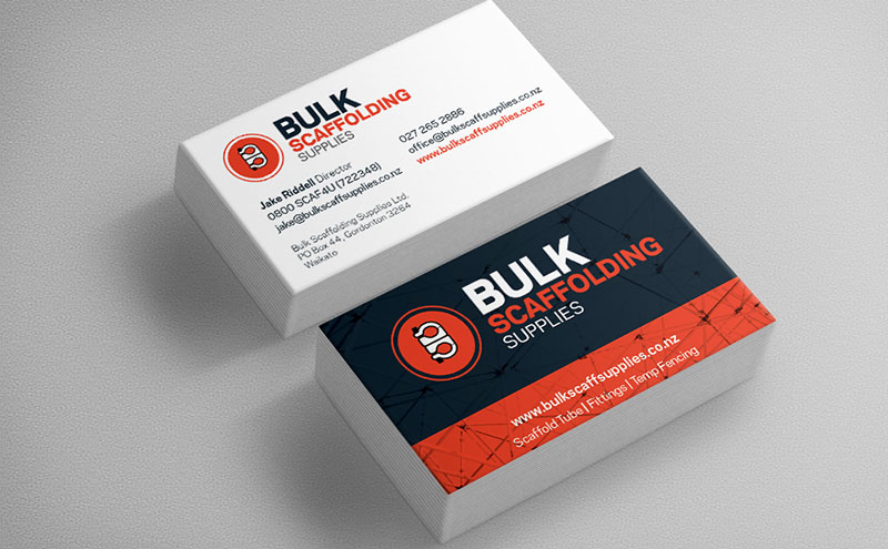 Custom designed artwork for  Business Cards